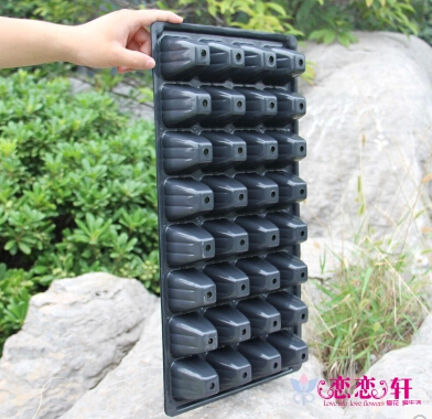 4pcs / lot.105 agujero, bandeja de plántulas / nutrición bolsas de - Productos de jardín