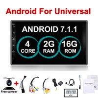 Автомобильный Электронный 7 2Din Android автомобильный gps кран ПК планшет 2 din универсальный для Nissan gps навигация BT радио стерео аудио без DVD