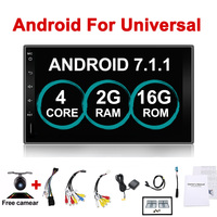 Car Electronic 7 2Din Android Car GPS Tap PC Tablet 2 din Universal For Nissan GPS Navigation BT Radio Stereo Audio Without DVD
