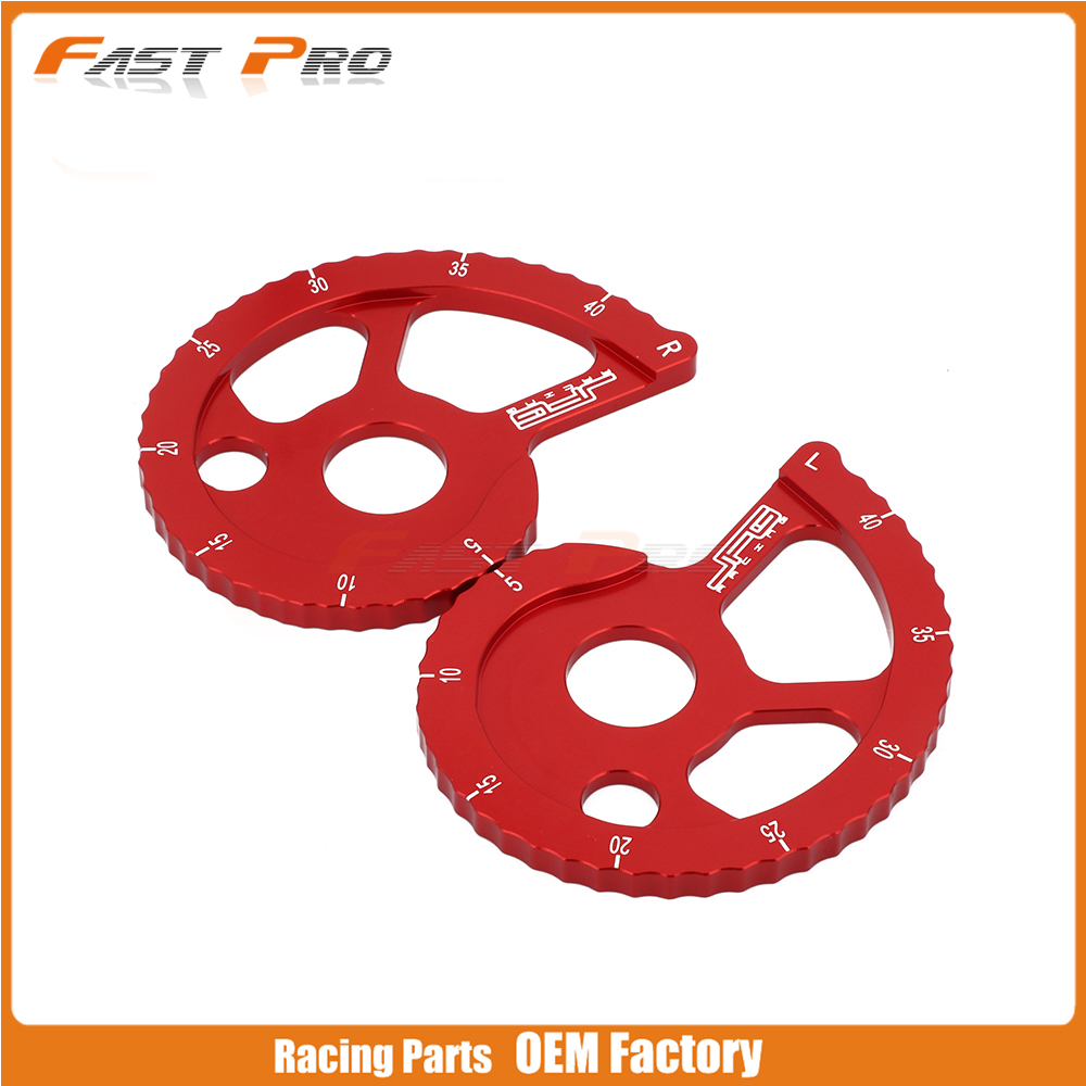 Motorcycle CNC Aluminum Guide Adjuster Chain For HONDA