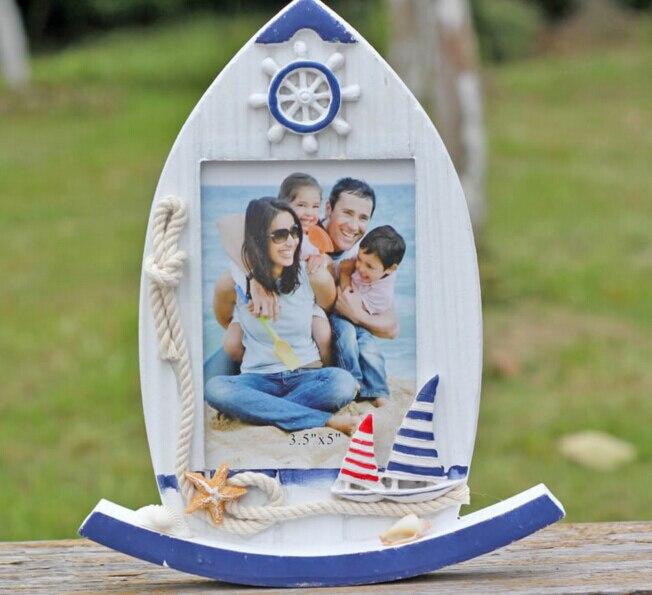 Tienda Online Barco creativo forma foto Marcos Decoración para el ...
