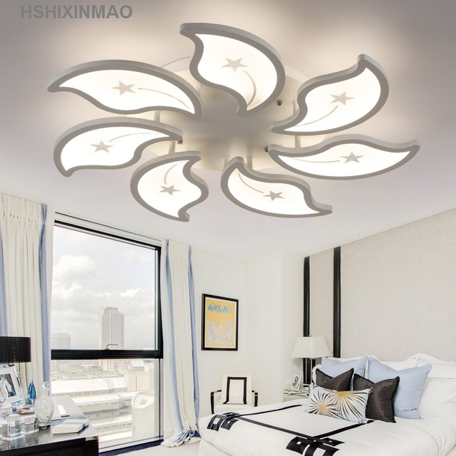 Creative stylish floral ceiling light modern simple acrylic living creative stylish floral ceiling light modern simple acrylic living room bedroom ceiling lamp home commercial aloadofball Choice Image