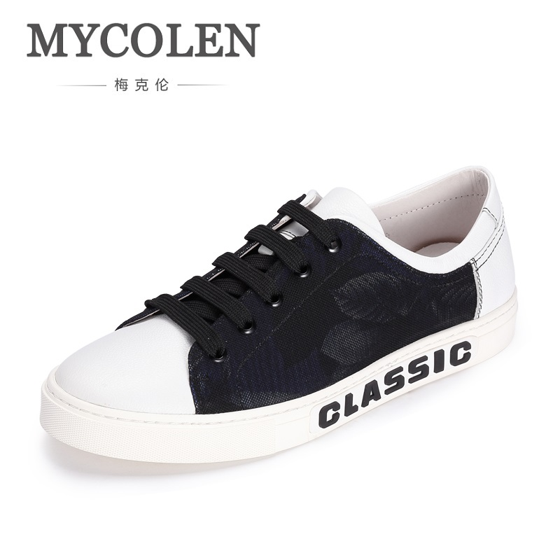 MYCOLEN New Canvas Shoes Men Casual Shoes Lace-Up Shoes Fashion High Quality Breathable Hard-Wearing Sneakers Chaussures Silver цена в Москве и Питере