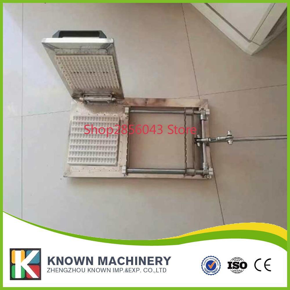 Machine manuelle de chaîne d'usure en acier de type d'oem pour le lien de vente pour le café de gingembre