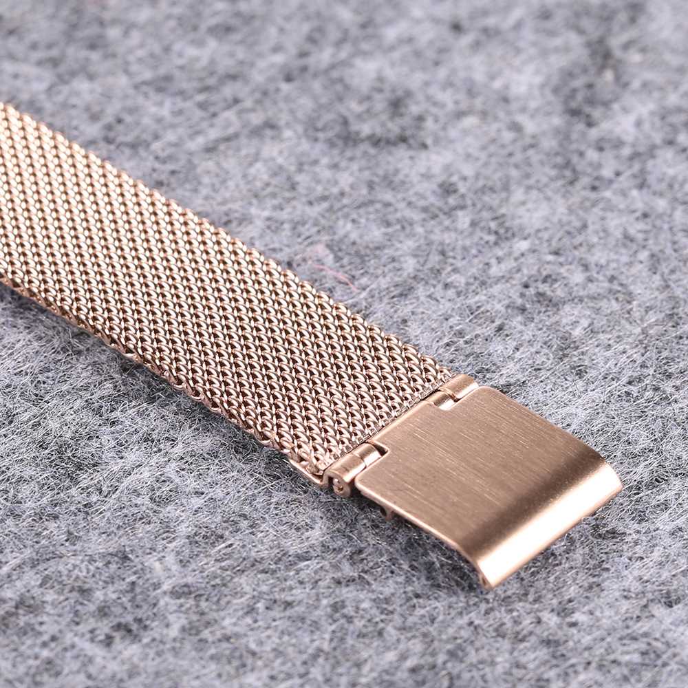 ultra thin quartz watches for women fashion ladies wristwatch drop shipping rose gold steel mesh bracelet watch gifts (5)