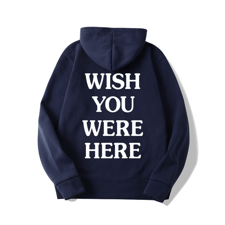 TRAVIS SCOTT ASTROWORLD WISH YOU WERE HERE HOODIES fashion letter ASTROWORLD HOODIE streetwear Man woman Pullover Sweatshirt 15