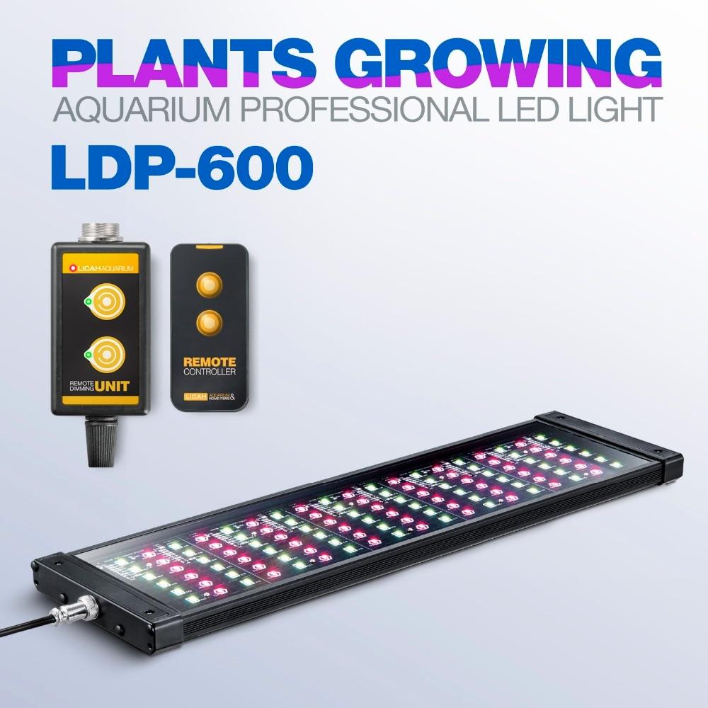 LICAH Fresh Water Aquarium Plant LED LIGHT LDP 600 Free Shpping