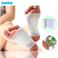 1Bag=2Pcs Kinoki Detox Foot Pads Patches Feet Care Improve Sleep Slimming Massage Relaxation Natural Plant Quintessence Kit B010