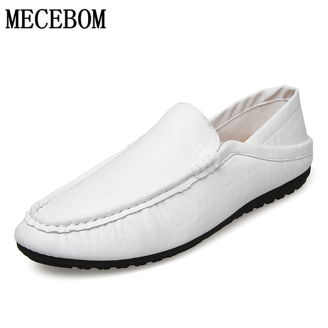 New summer Men's fashion casual shoes Zapato Casual leather shoes Loafer flats Slip on lazyers shoes size 38-44