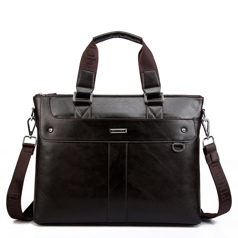 2017 Men Luxury Casual Briefcase Business Shoulder Bag PU Leather Messenger Bags Computer Laptop Handbag Bag Men's Tote Bags 2016 men casual briefcase business shoulder bag pu leather messenger bags computer laptop handbag bag men s travel bags