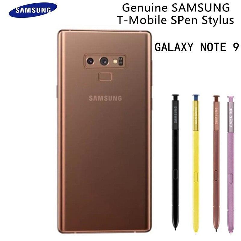 Véritable stylet Samsung pour Galaxy Note 9 stylo tactile S stylet de remplacement EJ-PN960 noir bleu violet avec emballage au détail