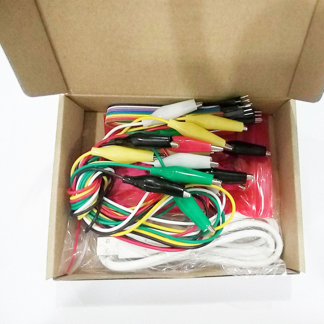 MK conjunto Deluxe Kit con Cable USB Dupond línea Clips para niños envío gratis