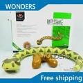 F06507 INFRARED REMOTE Control Toy Elétrica Sem Fio RC Simulação Cobra Criatividade Presente Novo Brinquedo Exótico Frete grátis