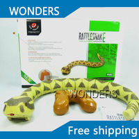 F06507 Infrared Remote Control Toy Electric Wireless Simulation RC Snake Creativity Gift New Exotic Toy Free shipping