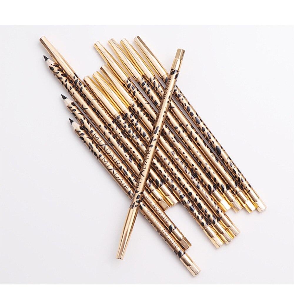 MIXDAIR eyebrow pencil 2in1 multifunction eye makeup tool waterproof long lasting Leopard Print eyebrow tattoo pen MD005 5