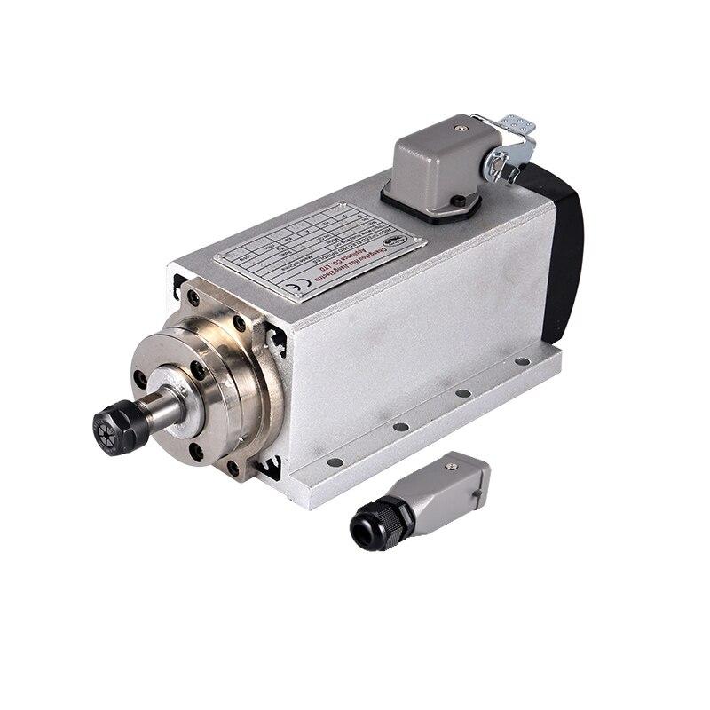 2017, распродажа чпу шпинделя двигатель 1.5 кВт с воздушным охлаждением шпиндели + 220 в/1.5 кВт инвертор площади фрезерные станки