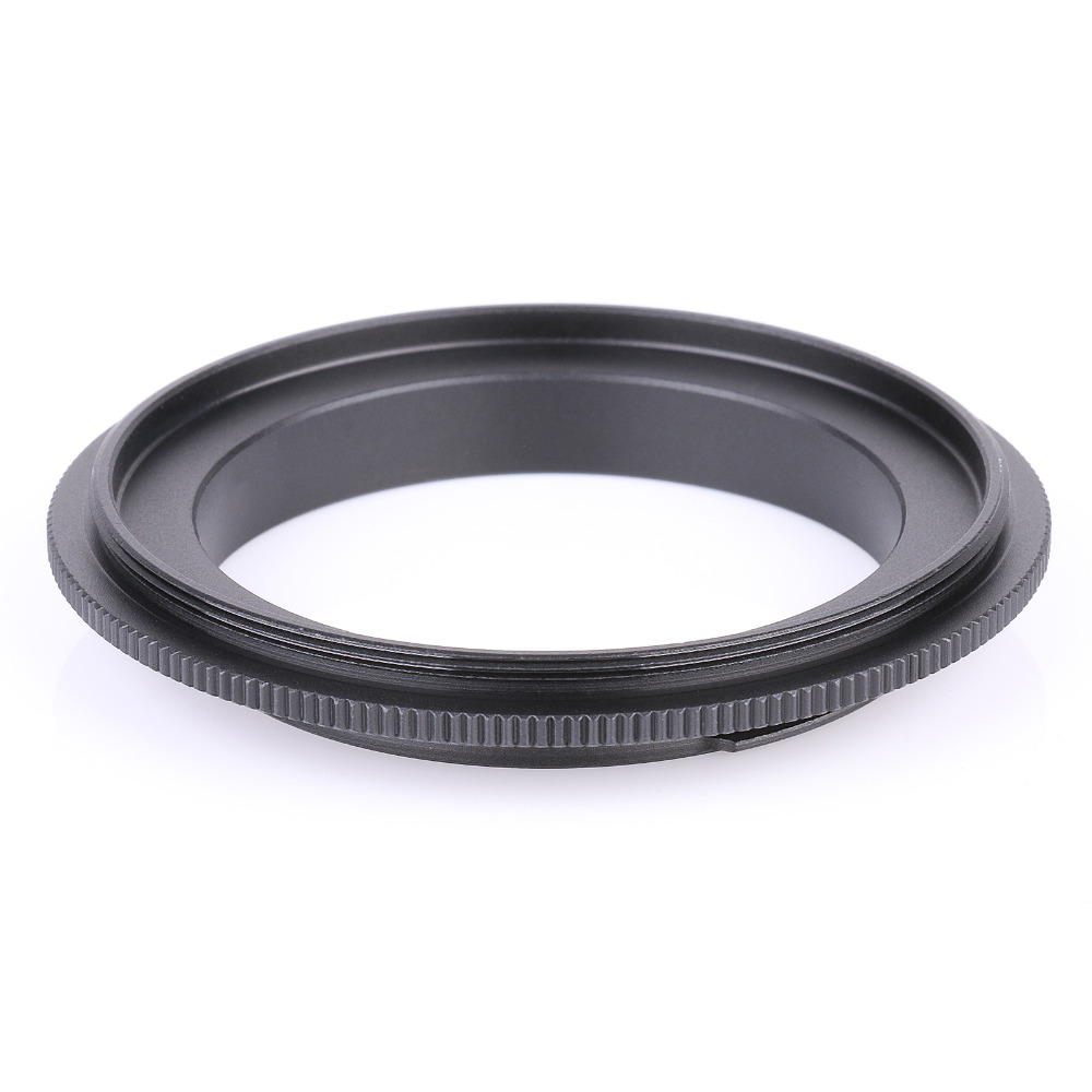 62mm Reverse Macro Adapter For Sony AF Mount Lens Protection Filter Ring UK
