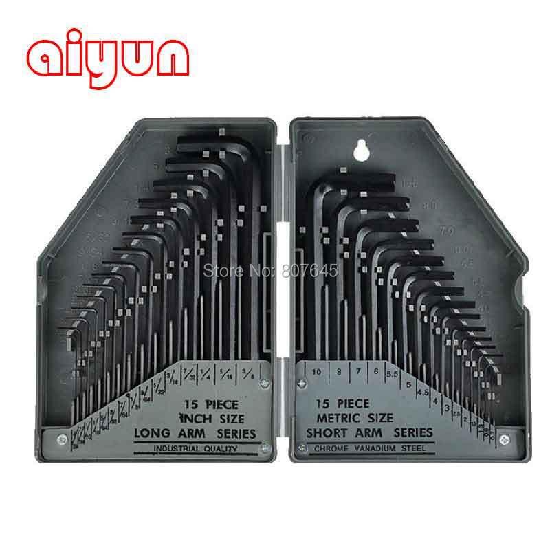 Купить 30 в 1 точное руководство комплект инструментов шестигранни комплект внутренний шестигранный ключ дешево