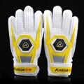 Luvas Luvas Luvas de Látex de Goleiro de futebol de Dedo Proteção Luvas de Goleiro de Futebol para As Crianças/Junionrs Acessórios de Equipamentos de Futebol
