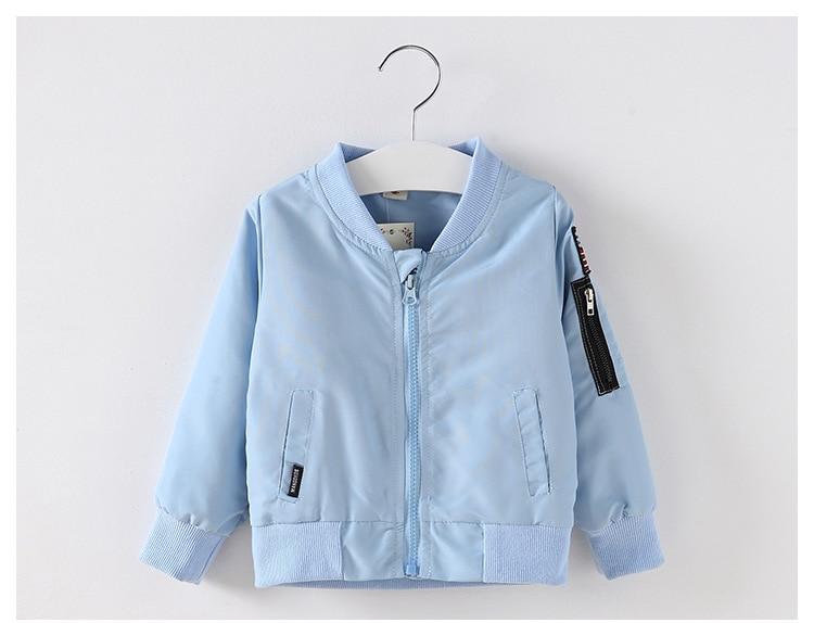 3424fc0fb Spring Mickey Jacket For Baby Boys Girls Coat Kids Cartoon Cotton ...
