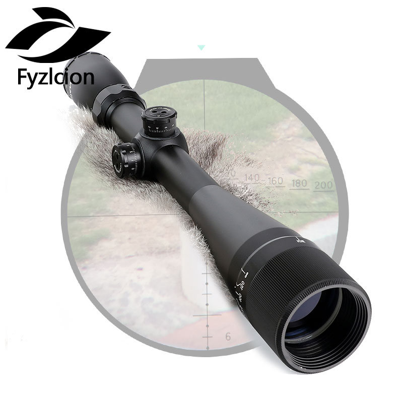 4-16X42 AO Hunting Rifle Scope Riflescope Mil Dot Reticle Optical Sight zos 3 12x40 ao mil dot reticle riflescope classic tactical weapon optical sight for hunting rifle scope with lens cover