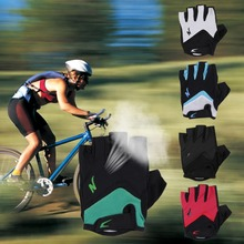 Breathable Half Finger Shakeproof font b Gloves b font Motorcycle Riding Cycling Bicycle New arrival