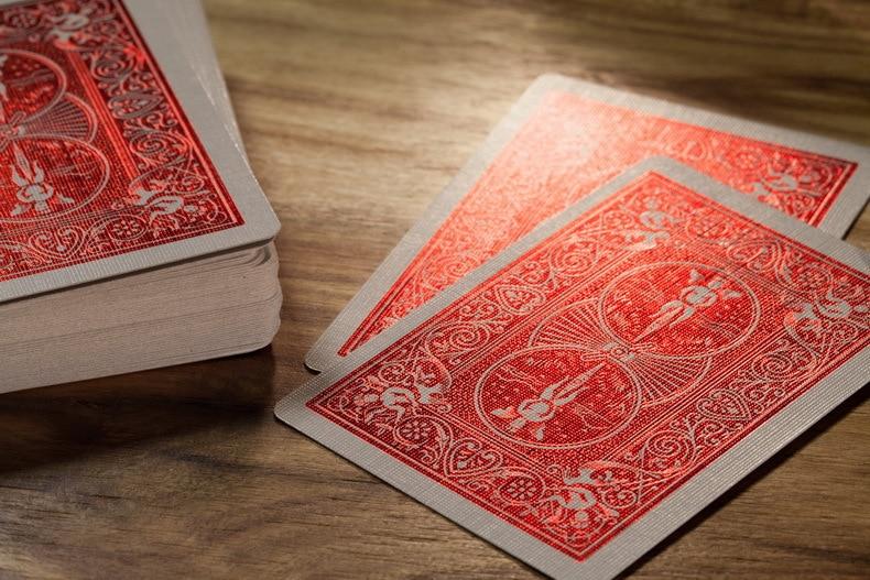 Ouro Luxe Decks Jogando Cartas Padrão Regular