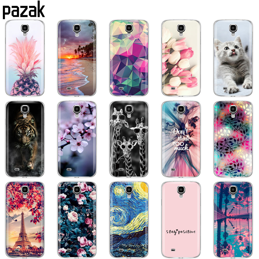 Case For Samsung S4 i9500 Case coque TPU Silicone Soft Cover on For Samsung Galaxy S4 copas bumper full 360 Protective fundas image