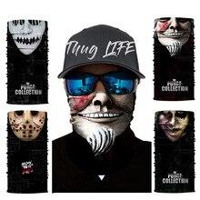 Seamless Face Mask Bandana Half Dust Wind Sun Protection Durable Neck Gaiter Tube Headwear