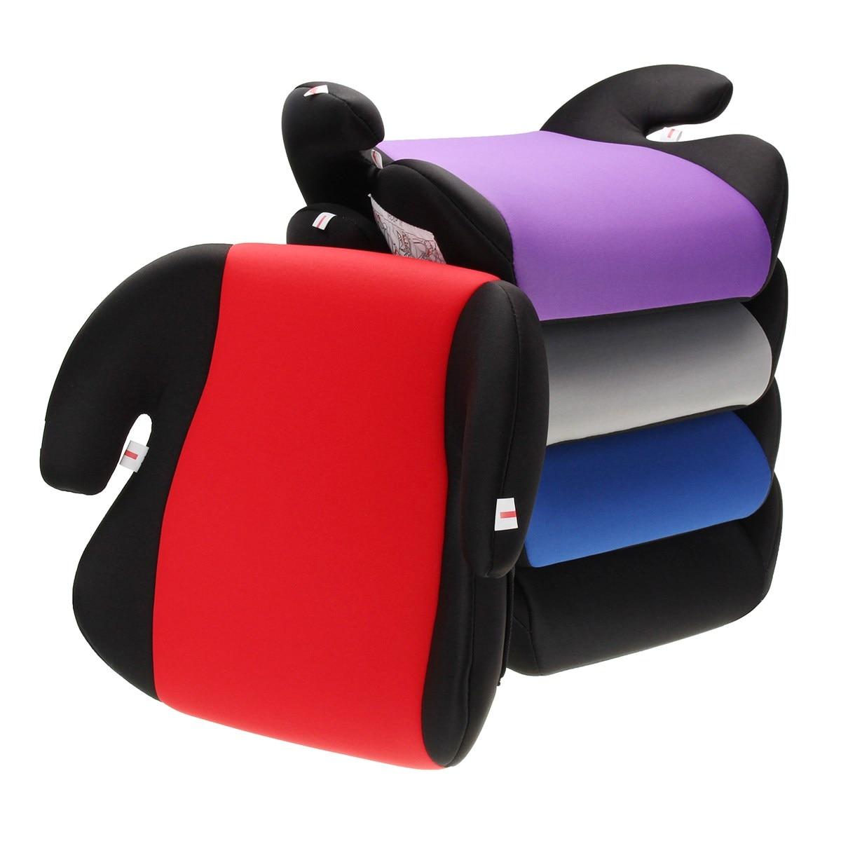 Coche de asiento seguro resistente niños bebé niño mayor de la almohadilla del asiento encaja 6-12 años Multi- color
