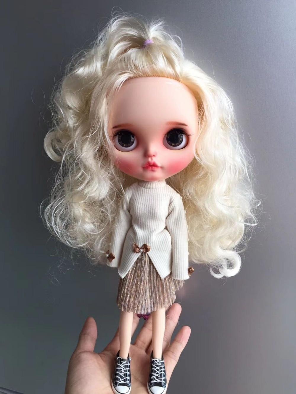 Personalizacja lalki Nude blyth doll słodkie lalki 20190306 w Lalki od Zabawki i hobby na  Grupa 2