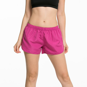 CKAHSBI Summer Exercise Gym Shorts Women Yoga Shorts Professional Sports Running Black Low Waist Workout Black Training Shorts 6