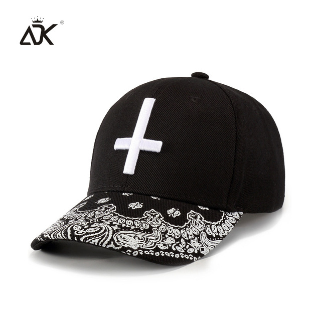 Adk Cap For Boys And Girls Hip Hop Style Cross Embroidery