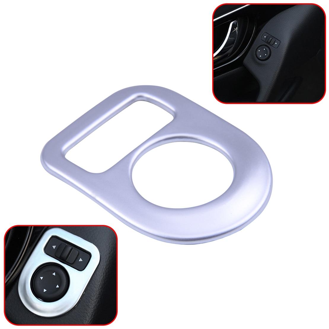 Side Mirror Switch Control Cover Trim For Nissan Qashqai Rogue X-Trail
