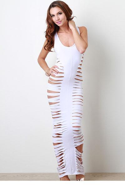 Free Shipping Summer European Fashion Sexy Maxi Dress