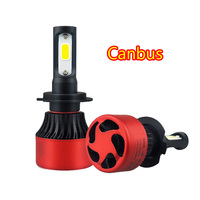 AUXITO H7 LED Canbus Car Headlight Bulbs Decode 16000LM Automobile HeadLamp Front Fog Light For BMW
