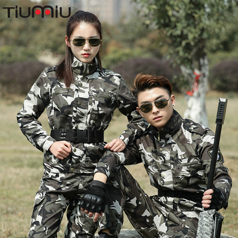 Military Uniform Tactical Combat Camouflage Army Cotton Uniform Tactico Jacket Cargo Pants Working CS Clothing Sets Female Pakistan
