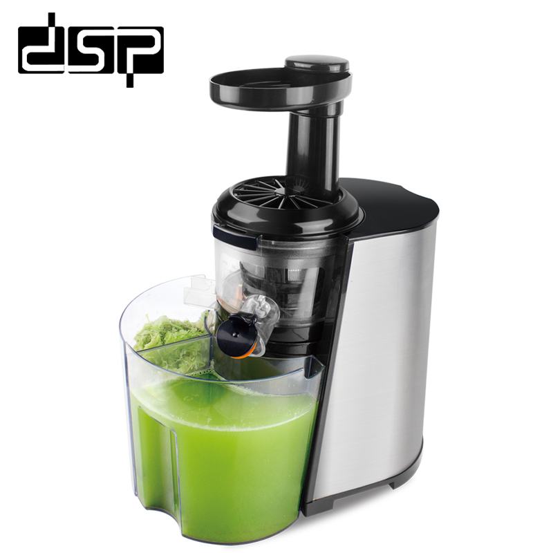 DSP Home professional slow juicer orange juice machine simple to make juice vegetable juice convenient and fast 220-240V соковыжималка rotel juice master professional