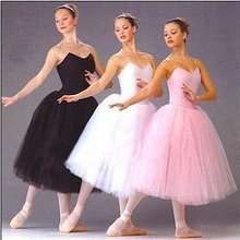 New Long Adult Children Ballet Tutu Dress Party Practice Skirts Clothes Fashion