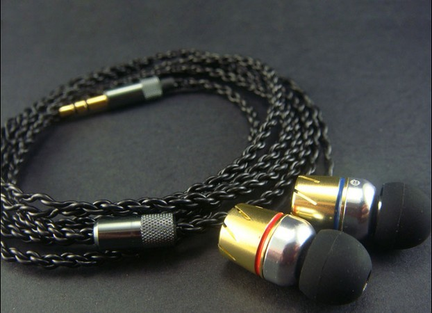 diy earphone UE single crystal copper wire diy se535 earphone