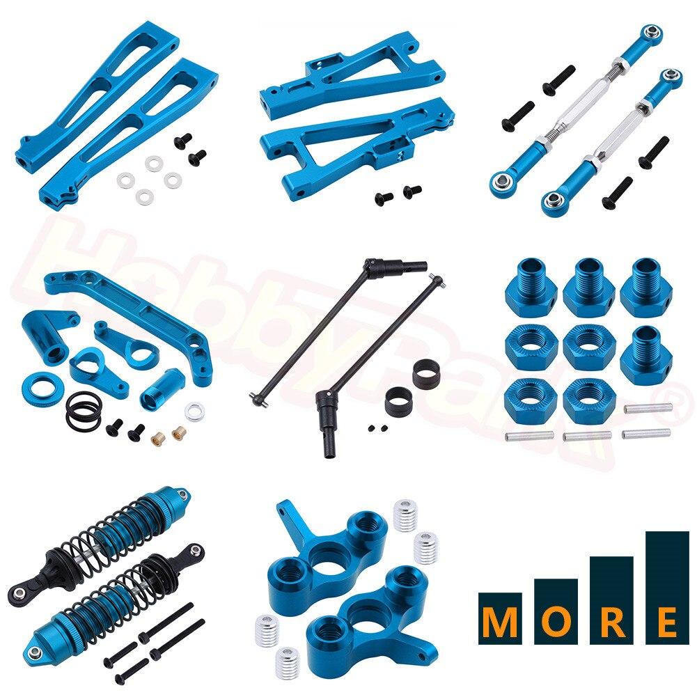 Metal Parts Aluminum Alloy For JLB Racing CHEETAH 1/10 Brushless RC Car Monster Truck Models Hop-Ups Blue