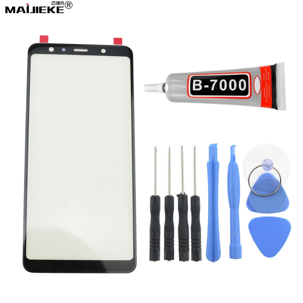 Ori AAA Screen Touch panel Replacement For Samsung Galaxy A7 2018 A750 A9 A9S J4 plus J6 plus Front Outer Glass Lens+B7000 GlueOri AAA Screen Touch panel Replacement For Samsung Galaxy A7 2018 A750 A9 A9S J4 plus J6 plus Front Outer Glass Lens+B7000 Glue