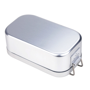 Portable Aluminum Lunch Box Bento Food Container Mess Tin 850/810ML Camping Picnic BBQ for Students Hiking Survival Travel Acces 1