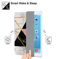 leather flip Marble  Flip Case For iPad Mini 5 4 3 2 1 Tablet Case Cover Auto Sleep Wake for iPad Mini 1 2 3 PU Leather Protect Skin (4)
