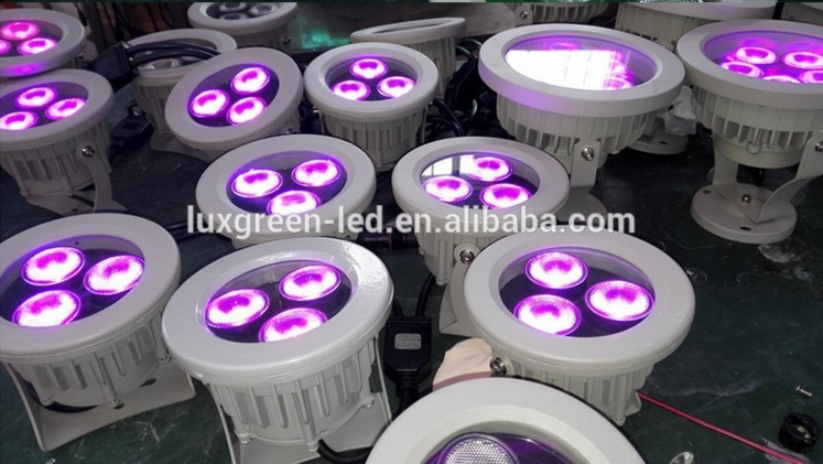Guarranteed 100% Free DHL shipping 3 Year Warranty Factory Wholesale 24W Rgbw Outdoor Led Garden Lamp Lawn Grass Light