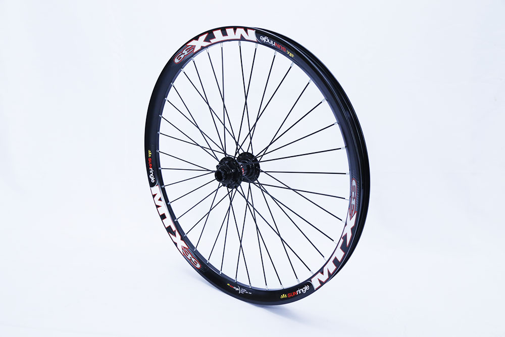 17 19 and 24 26 Front wheel with NOVATE Hub 20mm 110 drop out