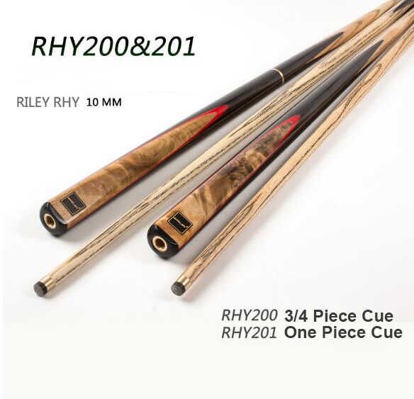 RILEY RHY-200/201 Снукер Cue ручной работы 3/4 шт Снукер набор с Райли чехол с профессиональным расширением 10 мм наконечник бильярдный кий