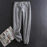 Winter Pajamas Sleepwear Women Pijama Plush Pants