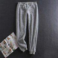 Winter Pajamas Sleepwear Women Pijama Plush Pants