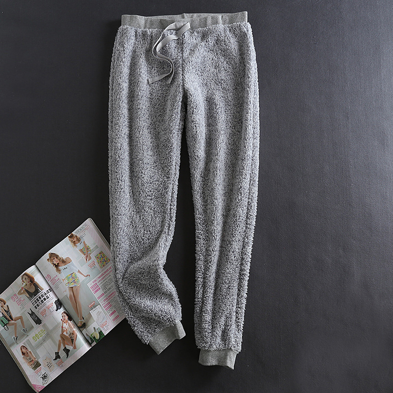 Winter Pajamas Sleepwear Women Pijama Plush Pants ...